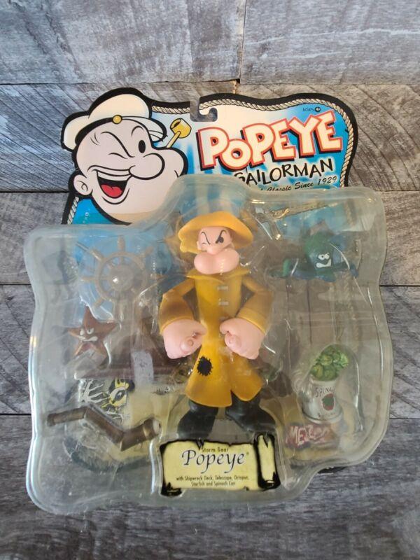 "Mezco Popeye Series 2 STORM GEAR 5"" Action Figure MOC, 2001"