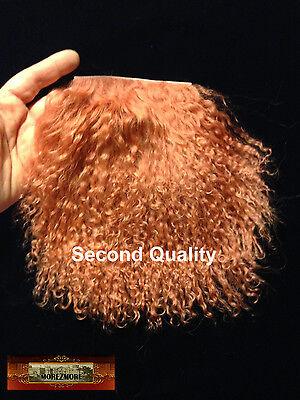 M01109 MOREZMORE Hair Tibetan Lamb Seconds COPPER AUBURN Doll Baby Hair Wig A60