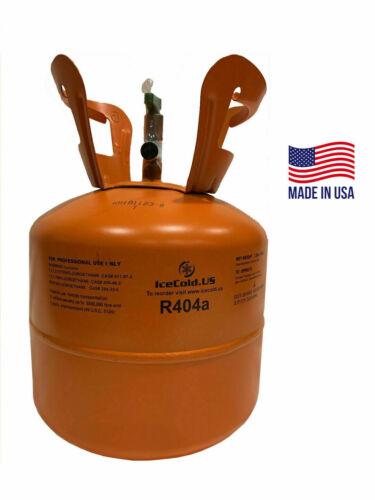 Cylinder R404a, R404, R-404, 404a Refrigerant 7.5lb tank. New Sealed Gas
