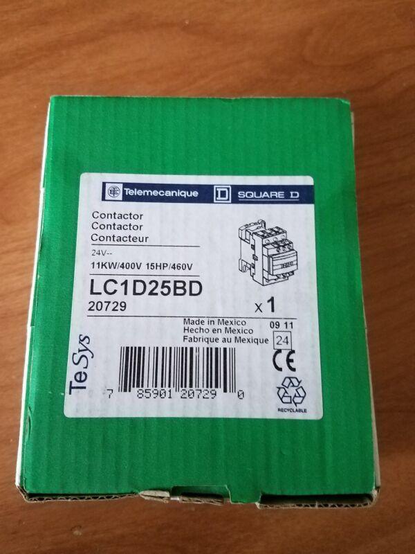 Telemecanique Square D Contactor LC1D25BD