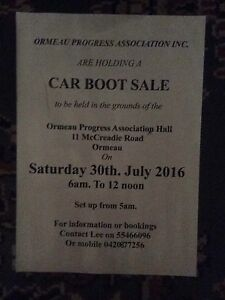 Car boot sale Ormeau Gold Coast North Preview
