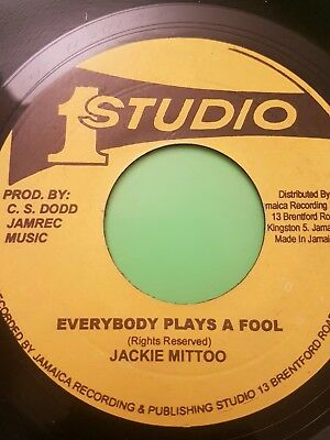 STUDIO ONE EVERYBODY PLAYS THE FOOL / GOING HOME JACKIE MITTOO ( NEW )