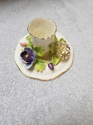 Kerzenständer Porzellan Staffordshire England