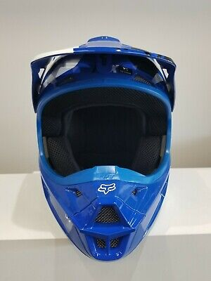 FOX  HELMET V1 RACE BLUE XS