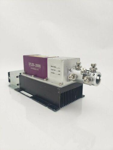Qioptiq iFlex-2000 Class 3B Laser Diode System 200mW 400-415nm with Big Heatsink