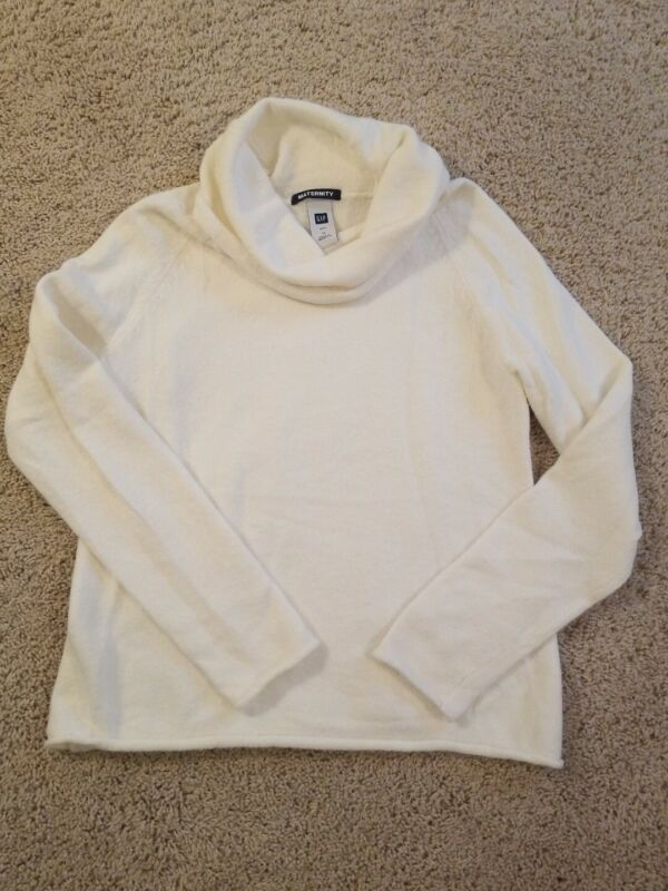 Gap Ivory Maternity Sweater, Size M