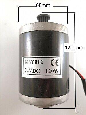 My6812 Dc 12v24v 120w High Speed Brushed Motor  N13