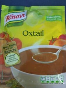 KNORR SOUP OXTAIL 14x60g