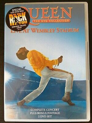 Queen - The DVD Collection Live At Wembley Stadium (2003) 2-Disc Set