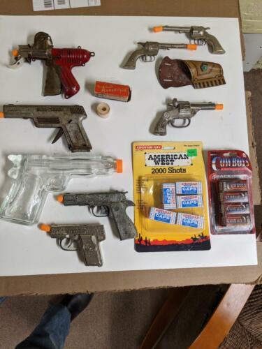 Vintage toy gun collection