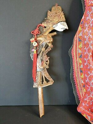 Old Balinese Stick Puppet Carving …beautiful collection & display piece