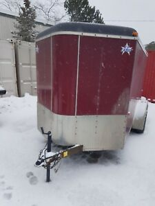 2009 US cargo 6x12 + V Nose Tandem axle enclosed cargo trailer