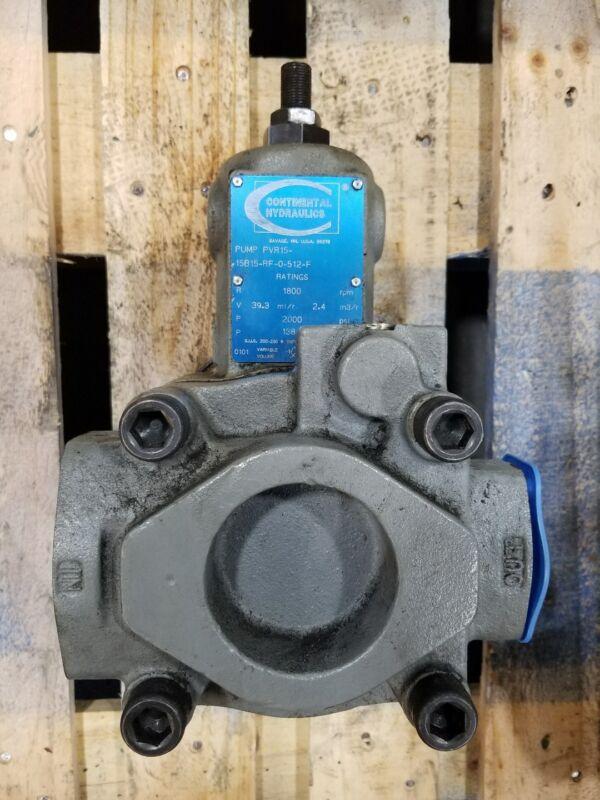 Continental Hydraulics Vane Pump PVR15-15B15-RF-0-512-F #2305SR