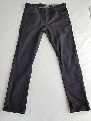 Volcom Skateboard Black Jeans Mens Size 36 Volcom Black Jeans