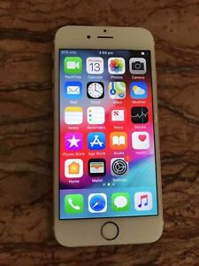 GOOD WORKING condition iPhone 6s ROSEGOLD 16gb