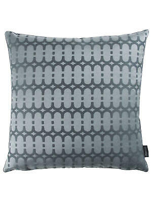 Kirkby Design by Romo Eley Kishimoto Collection Loopy Link Cushion, Dark Grey