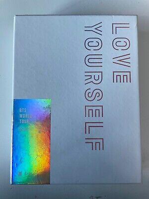 BTS World Tour Love Yourself Seoul Blu Ray DVD Full Set with SUGA Photobook