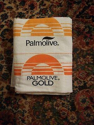 006 Rare Vtg Colgate Palmolive Promo Advertising Towel Hottest Bars Ra Briggs