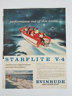 Johnson Motors Evinrude Motors Print Ads Vintage 1 Each Saturday Evening Post