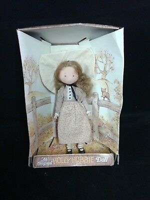 "11"" ""CARRIE""  FRIEND of HOLLY HOBBIE DOLL VINTAGE DOLL"