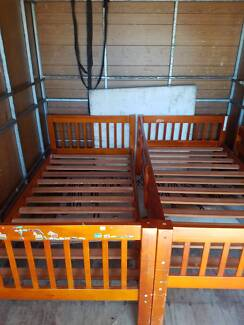 Bunk bed single bed for sale, Single bed for sale. Wooden