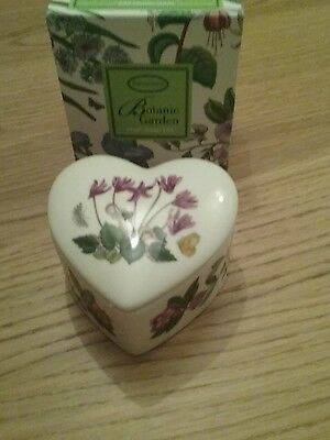 PORTMEIRON HEART TRINKET BOX NEW AND BOXED