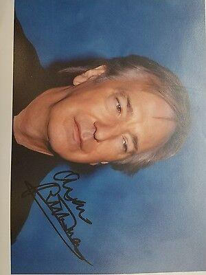 alan rickman signed photo