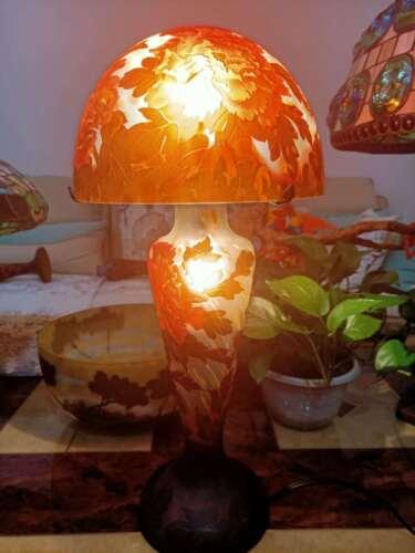 Very beautiful. Emile Galle lamp BIG