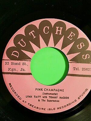 DUKE REID TEARS IN MY EYES  / PINK CHAMPAGNE ERIC MORRIS  / LYNN TAITT