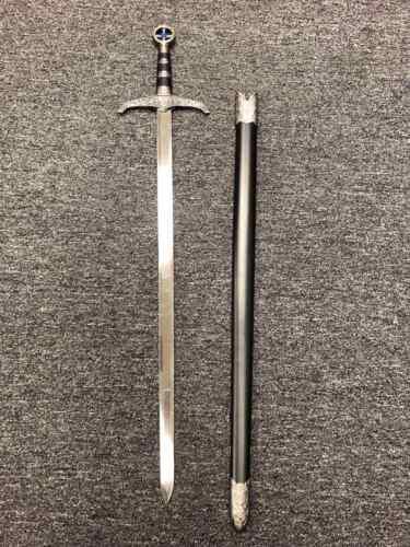 """37"""" Medieval Crusader Knight of Templar Celtic Royal Claymore Robin Hood Sword"""
