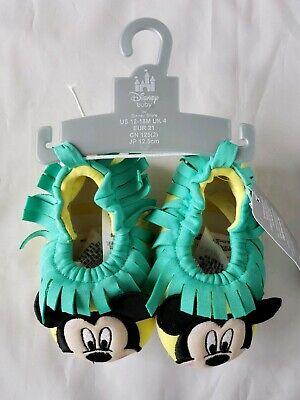 Disney Swim Shoes (Authentic Disney Baby Mickey Mouse Swim Shoes Size 12-18 Months Disney Store)