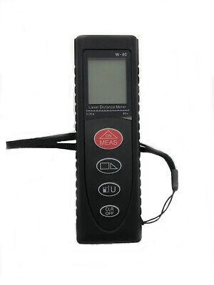 Handheld Digital Lcd Laser Distance Meter Range Finder Measure Diastimeter 80m