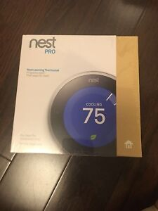 Brand new nest learning thermostat