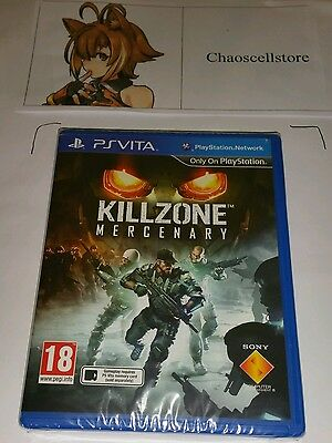Killzone Mercenary PSV New Sealed UK PAL Sony PlayStation Vita PS Vita Kill Zone, usado segunda mano  Embacar hacia Argentina