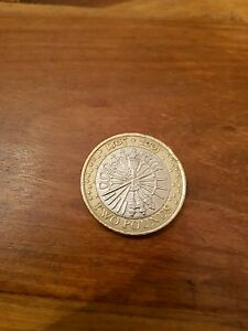 Elizabeth II. £2 Pounds 2005 Gunpowder Plot 1605 Guy Fawkes.  Coin Hunt