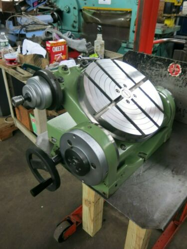 Walter 12 1/2″ Tilting Milling Rotary Table Made in Germany