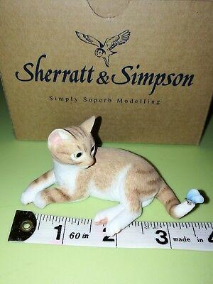 Sherratt & Simpson Kitten laying down BNIB 55707
