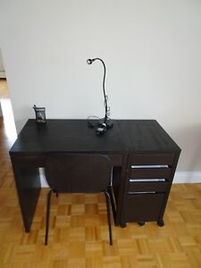 Desk, Drawers, Chair and Lamp - EVERYTHING MUST GO