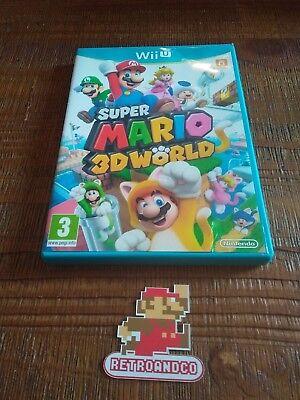 Jeu vidéo super Mario 3d World nintendo WII U Complet fr