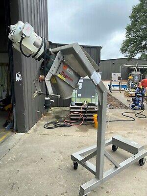 Flexicon Corp. Portable Cart Mounted Screw Conveyor
