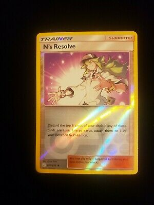 N's Resolve 200/236 - Uncommon Reverse Holo Pokemon Card - Cosmic Eclipse