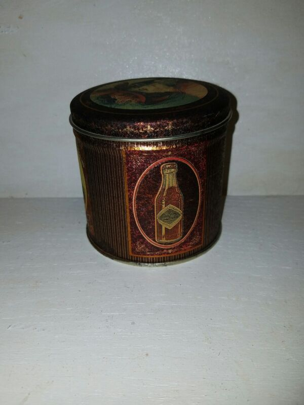 Vintage Coca-Cola Collectible Tin Container From 1990