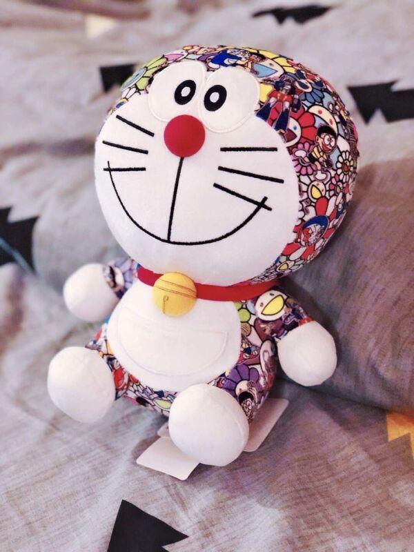 Uniqlo x Doraemon x Takashi Murakami Limited Edition Plush Toy