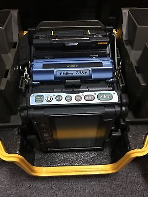 Fujikura FSM-70S+ Fusion Splicer, New, CT50 Cleaver, Bluetooth, Multi language