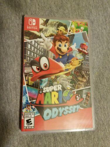 $54.00 - Super Mario Odyssey (Nintendo Switch, 2017)