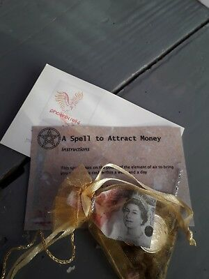Reiki Blessed Spell to Atttact Money - Law of Attraction