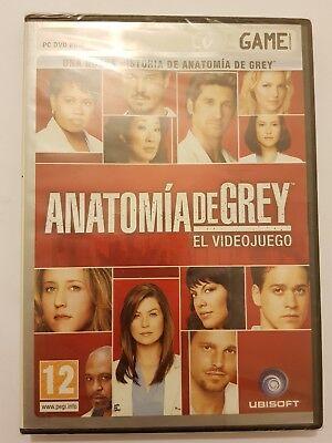 Anatomia de Grey:El Videojuego version Española para PC/Ordenador Nuevo/Sellado!