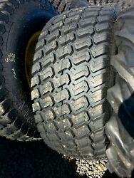 Pair 44 1800 20 44/1800x20 titan turf tires on John deere wheels new