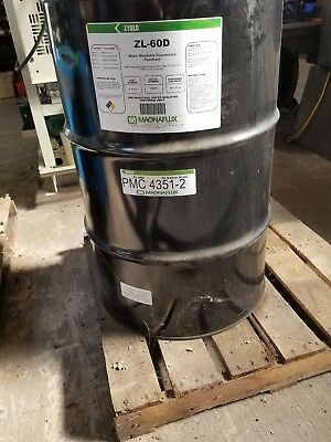 55 Gallon Drum Zl-60d Magnaflux Fluorescent Water Washable Penetrant
