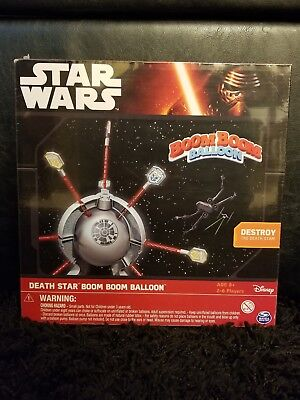Spin Master Games Star Wars Death Star Boom Boom Balloon Game